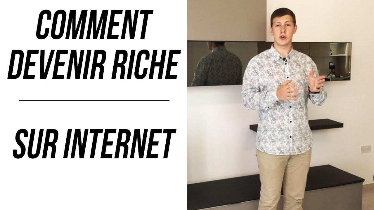 comment devenir riche sur internet youtube. Black Bedroom Furniture Sets. Home Design Ideas