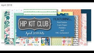 Hip Kit Club - April 2018 unboxing!!!