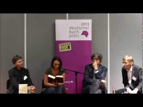Deutscher Buchpreis 2013: Terézia Mora auf der Frankfurter Buchmesse