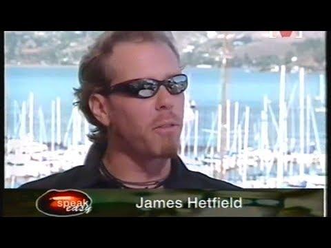 Metallica - ReLoad Album Interview on Channel V Speakeasy (1997)