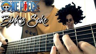 Gambar cover Bink's Sake - Yohohoho (One Piece) | Guitar Solo (FULL TAB)