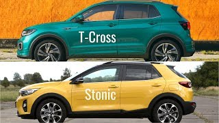 Volkswagen T-Cross vs Kia Stonic