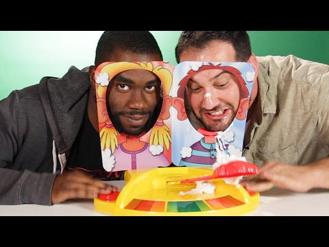Thumbnail: People Play Pie Face Showdown