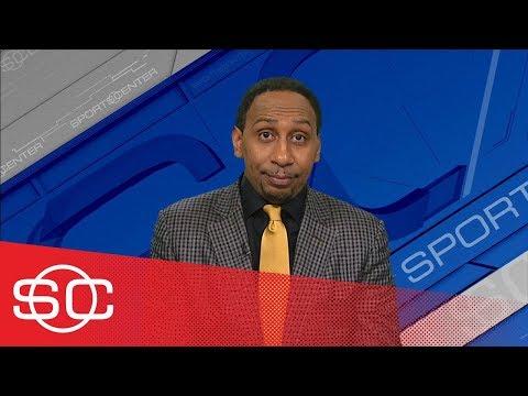 Stephen A. Smith suspicious about Warriors' injuries | SportsCenter | ESPN