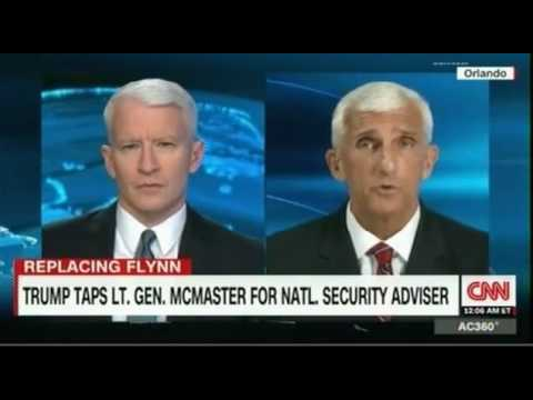 Anderson Cooper discusses Trump's choice of Lt  Gen McMaster for National Security Adviser