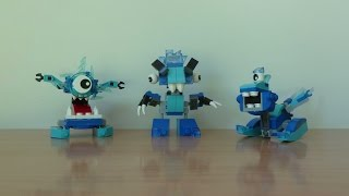 LEGO MIXELS SERIES 5 Frosticons Tribe Krog Chilbo Snoof Frosticons Max