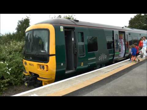 166212 on a Rail trip to Severn Beech July 7th 2017
