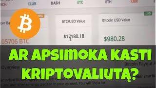 Prekiauti bitkoinu už ogeoiną
