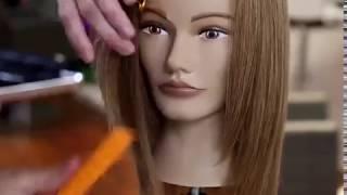 Женская стрижка на средние волосы слоями