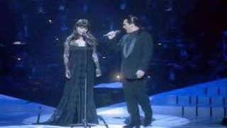 Sarah Brightman and Antonio Banderas - phantom of the opera