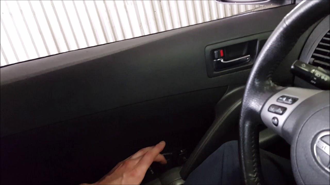 Automatic Window Reset Scion TC