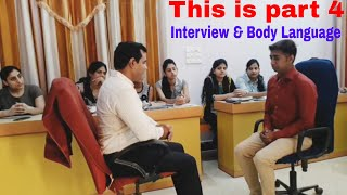 Interview Manners and #Body #Language (PART 4) : ICICI PO / SBI PO