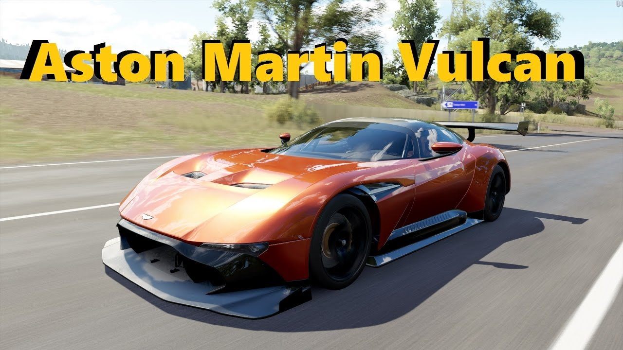 Grand Tour Episode 2 Aston Martin Vulcan Forza Horizon 3 Youtube