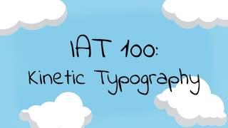 Rocket - Tori Kelly | IAT 100: Kinetic Typography