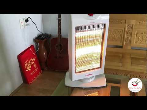 [Review] Mở hộp đèn sưởi ấm cho trẻ sơ sinh giá 350k trên Lazada