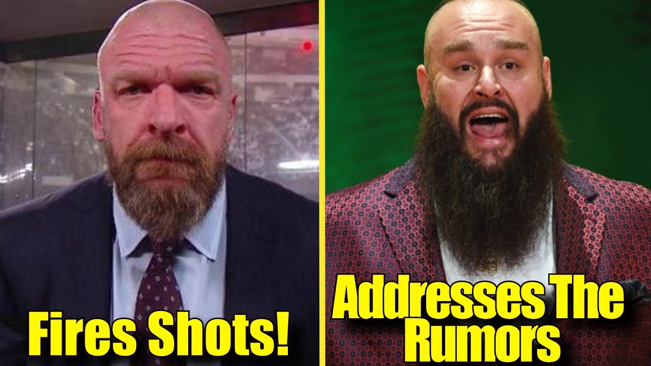 Triple H FIRES SHOTS! Braun Strowman ADDRESSES The Rumors! The Rock RETURNING? Kenny Omega RETIRING?