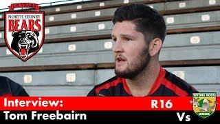 2018 Interview - Intrust Super Forward Thomas Freebairn - Round 16 Vs Roos