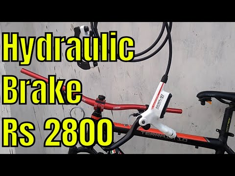 How To Install Hydraulic Brakes In MTB Cycle | Gear Shifter | Handlebar | Stem | Mechanical Brakes