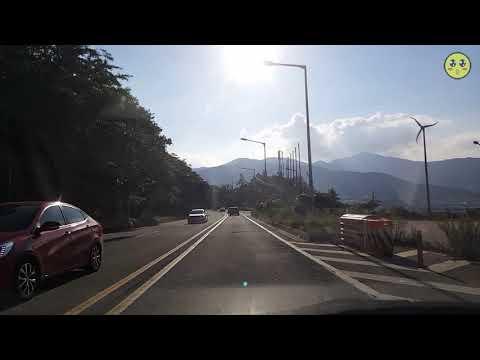 [드라이브 영상] 전남 완도군 명사십리에서 해남읍까지 달렸습니다~(1080 60fps)