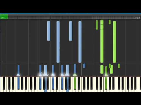 [S] Collide: Full Synthesia Piano Tutorial.