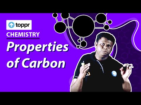 Class 8 Chemistry : Carbon | Properties of Carbon