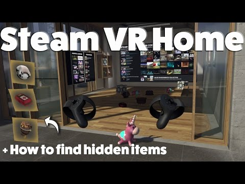 How To Install The New Steam VR Home Using Oculus Rift & Oculus Touch - Works!!