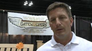 Gatekeepers Custom Safety Gates - Trade Show Demo