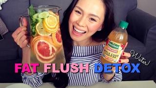 FAT BURNING Detox  + Apple Cider Vinegar Drink