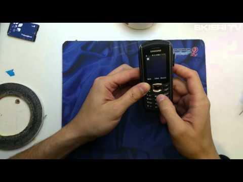 Samsung B2710 - hard reset