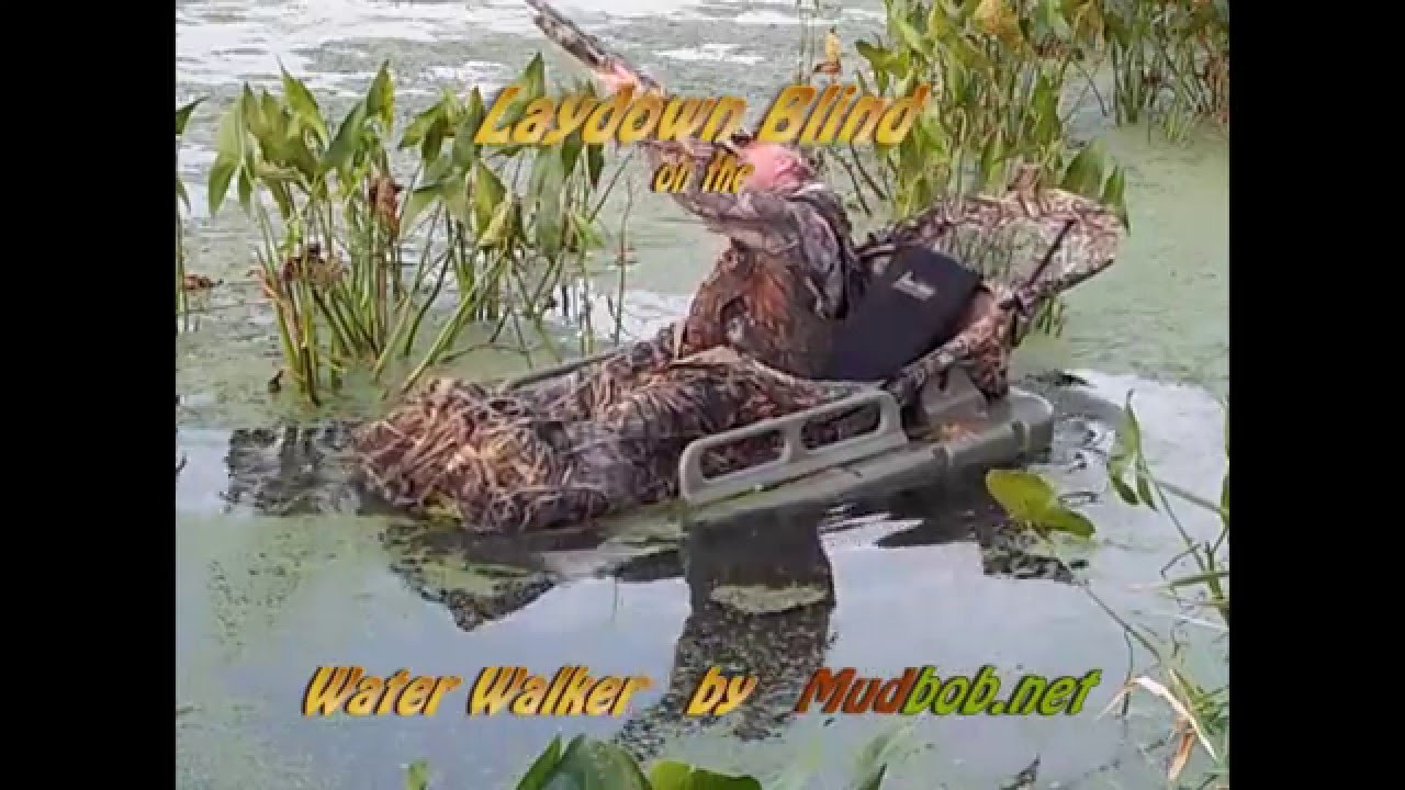 Lay Down Blinds >> Laydown Blind for the Marsh - YouTube
