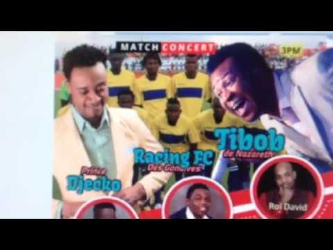 Spot Tibob Nazareth Prince Djecko Concert Match Racing Gonaives Haiti 2017