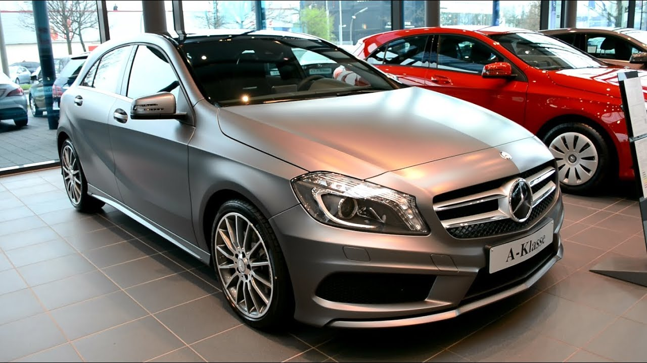 mercedes benz a 250 amg sport a klasse w176 youtube. Black Bedroom Furniture Sets. Home Design Ideas