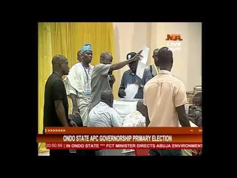 APC Primary Election In ondo state