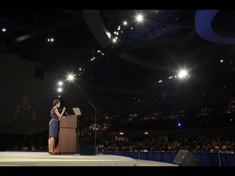 First Lady Michelle Obama Speaks on the Second Anniversary of Lets Move!