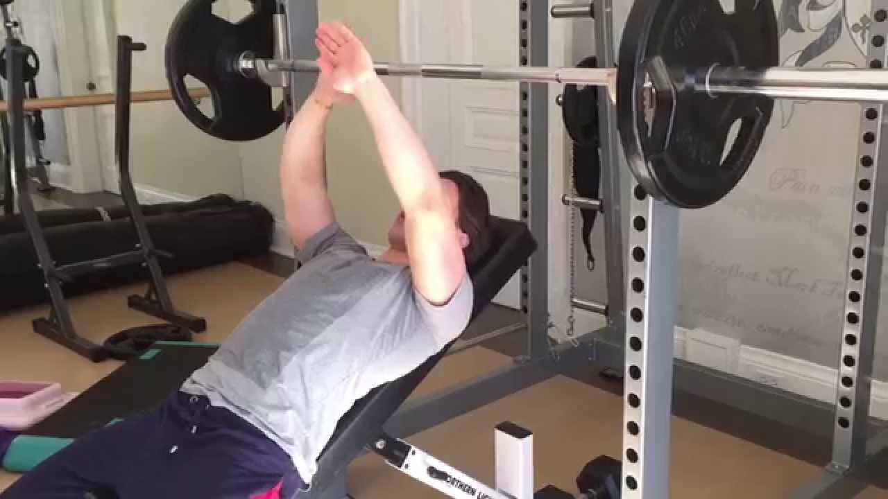 Incline Bench Press Form For A Steel Chest Youtube
