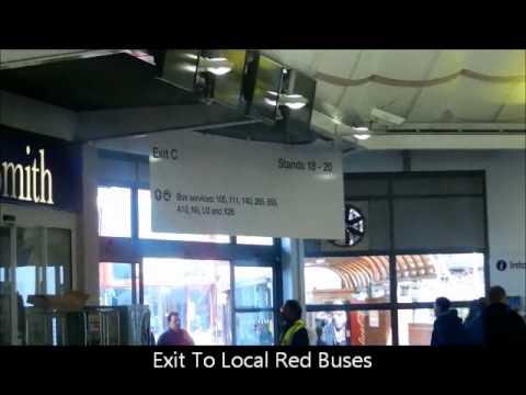 London Heathrow Airport Central Bus Station