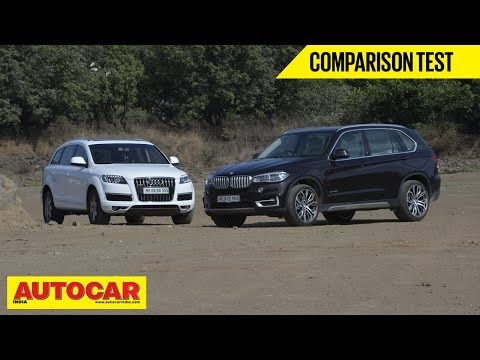 BMW X5 vs Audi Q7 | Comparison Test | Autocar India