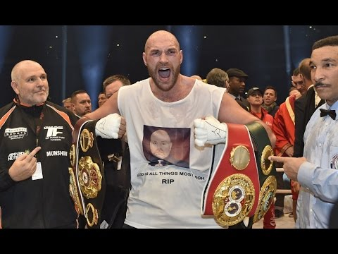 Klitschko-Fury Review Fury Shocks The World; New Unified Heavyweight Champ