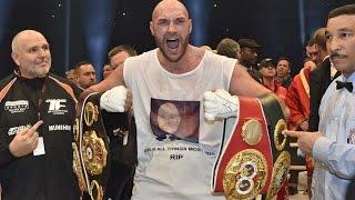 Klitschko-Fury Review Fury Shocks The World; New Unified Heavyweight Champ