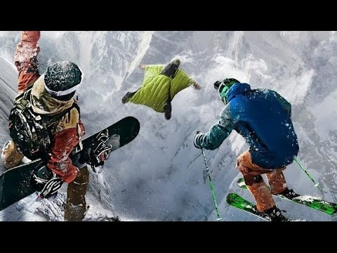 STEEP Freeride in the alps - Doing impossible lines
