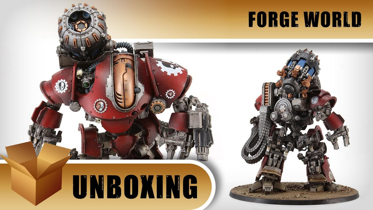 Unboxing: Forge World Thanatar Siege-Automata by OnTableTop