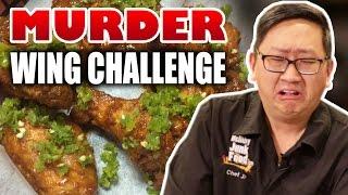 Worlds Hottest Chicken Wing Challenge