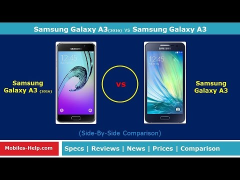 samsung galaxy a3 2016 vs samsung galaxy a3 review youtube. Black Bedroom Furniture Sets. Home Design Ideas