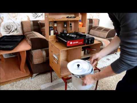 Походная кухня своими руками фото