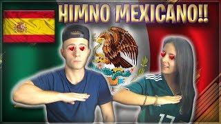 ESPAÑOLES REACCIONAN AL HIMNO MEXICANO POR PRIMERA VEZ!!