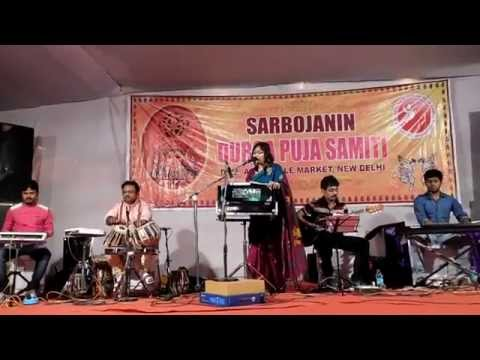 """""""Hridmajhare Rakhbo"""" performed by Sukanya"""
