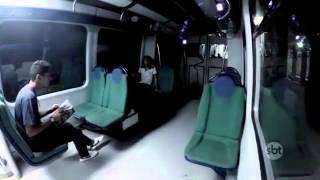 La Peor Broma En El Metro subterráneo de Brasil.. Niña fanta…