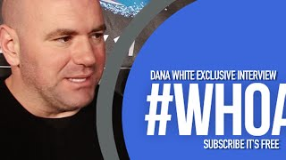 Dana White talks media scrums, Ireland, McGregor hype train and more