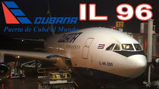 Cubana IL-96 Business Class | Havana - Madrid