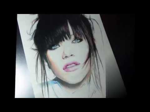 Drawing Carly Rae Jepsen